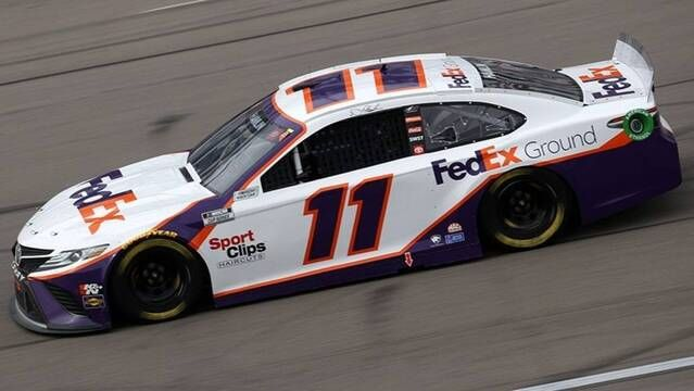 Denny Hamlin wins Busch Pole for Atlanta Motor Speedway