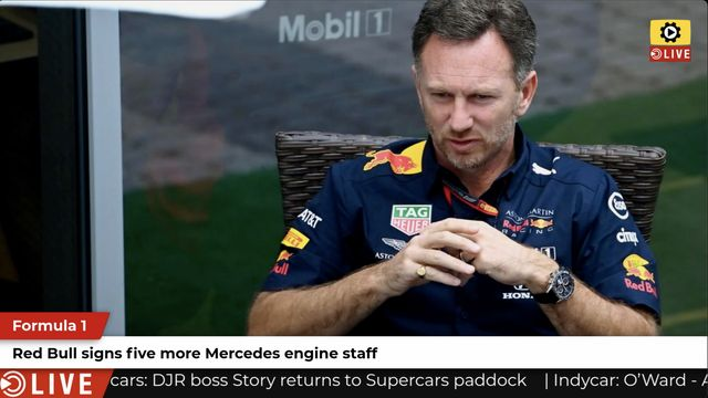 F1: Red Bull poaches Mercedes engine personnel