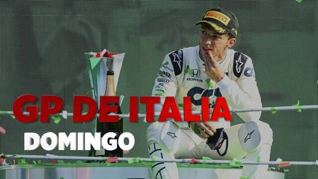 GP de Italia F1 resumen del domingo