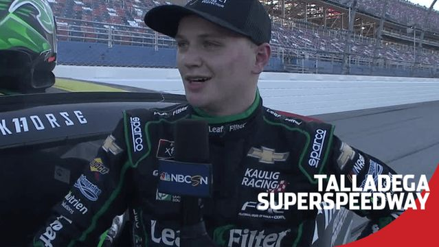 Haley after Talladega win: 'Build a bigger trophy case'