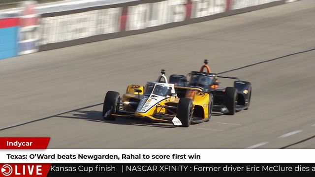 IndyCar: O'Ward beats Newgarden, Rahal to score first win