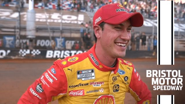 Logano: 'Bristol on dirt! This is incredible!'