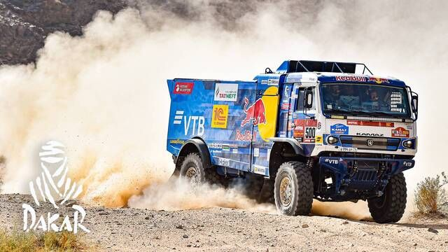 Dakar 2020: Day 4 Highlights - Trucks