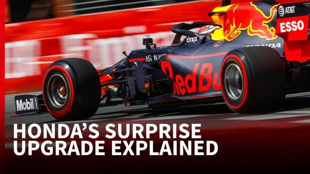 Honda's latest F1 upgrade shifts the focus onto Red Bull