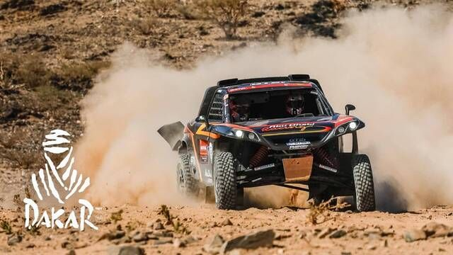 Dakar 2021: Stage 12 Highlights - Lightweight Vehicles