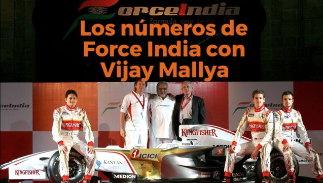 Motorsport Shorts: los números de Force India con Vijay Mallya