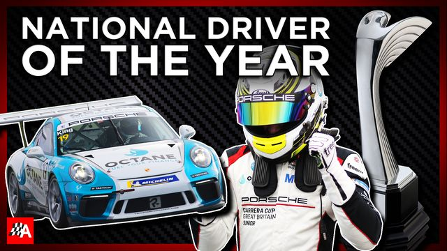 National Driver Of The Year - Autosport Awards 2020