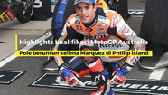 Highlights kualifikasi MotoGP Australia