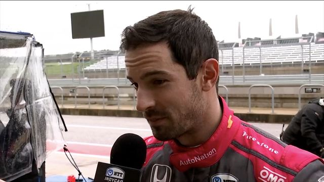 IndyCar: Interview with Alexander Rossi at COTA