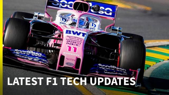 F1 tech developments at the Australian GP