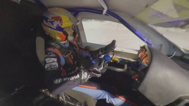 Onboard: Dani Sordo goes ice rallying in Andorra