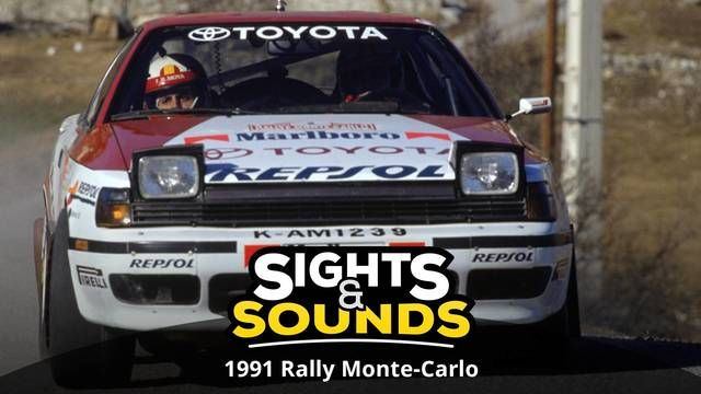Sights & Sounds: Monte-Carlo Rally van 1991