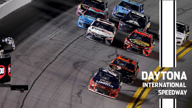 Last-lap chaos at Daytona ends with Byron capturing first Cup Series win
