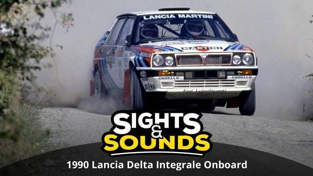 Sights & Sounds: 1990 Lancia Delta Integrale Onboard