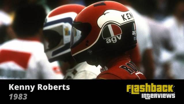 1983 San Marino Bike GP, Interview with Kenny Roberts