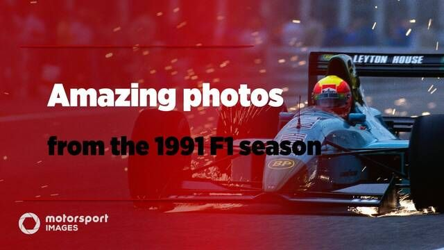 Grand Prix Greats – Amazing photos from F1 1991