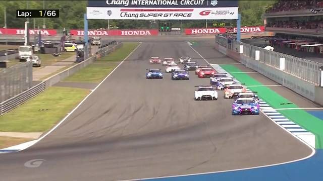 SUPER GT Buriram arrancada