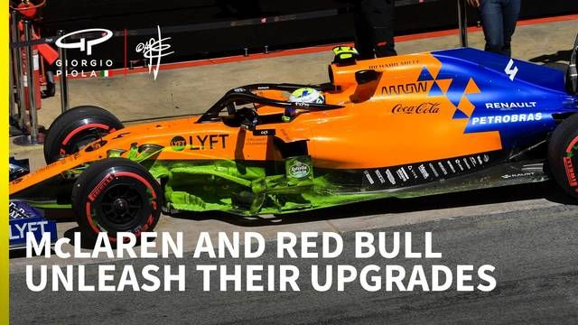 Red Bull & McLaren: Aggressive Updates für Barcelona