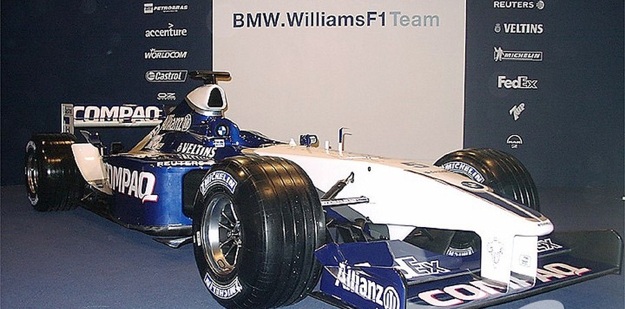 WilliamsF1 BMW FW24 launched at Silverstone