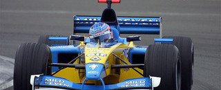 Formula 1 Silverstone Tuesday test session report 2002-02-19