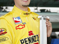 IRL: Hornish takes Homestead-Miami pole