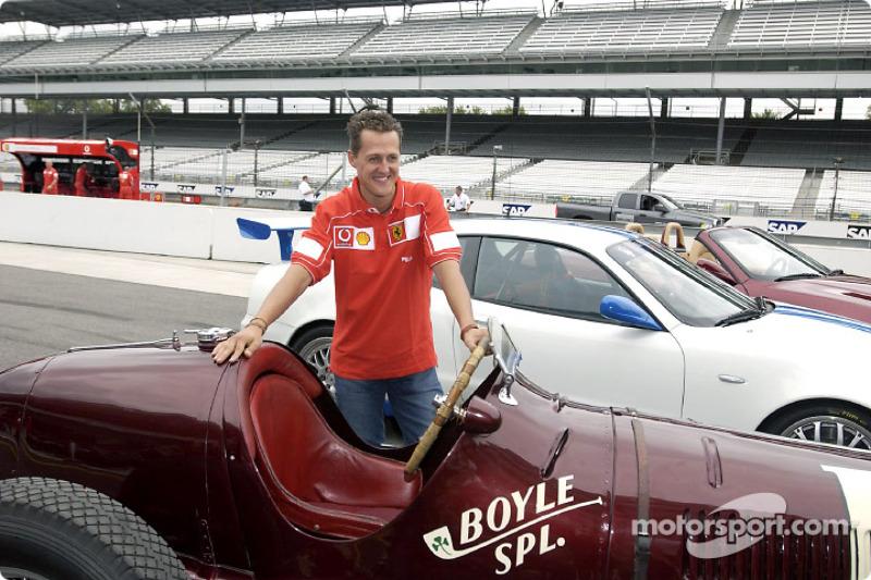 Schumacher's dream season