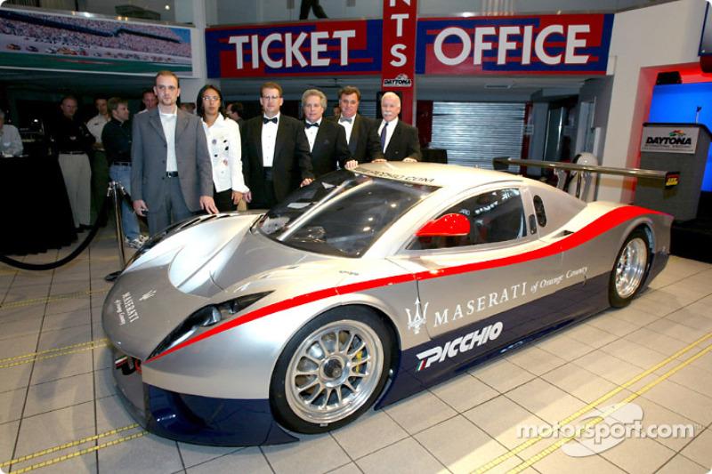 Daytona Prototype testing begins at Daytona