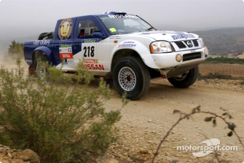 Dakar: Nissan stage two report