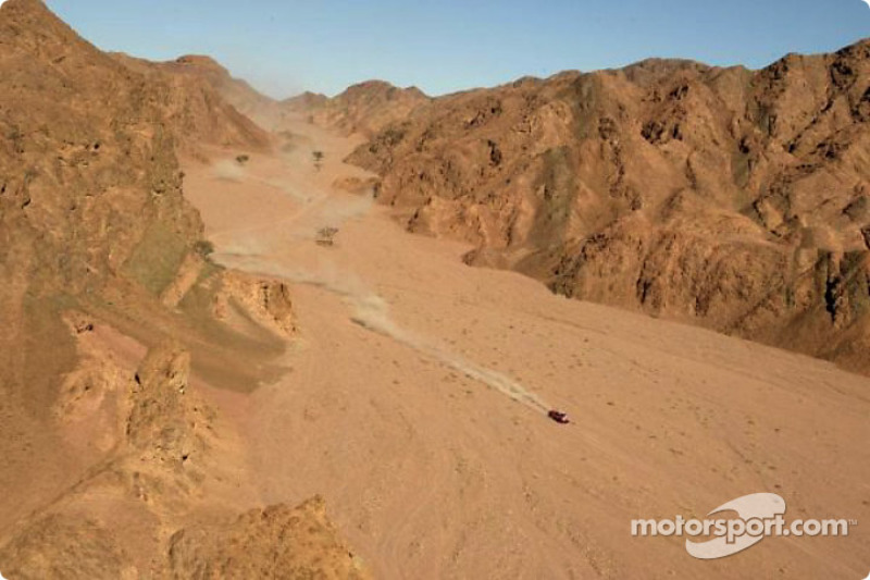 Dakar: Stage 16 Abu Rish - Sharm El Sheikh notes