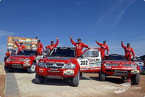 Dakar Dakar: Mitsubishi final report