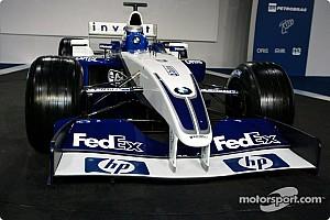 Formula 1 Williams FW25 in focus