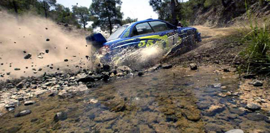 Solberg tops the charts for Cyprus day two