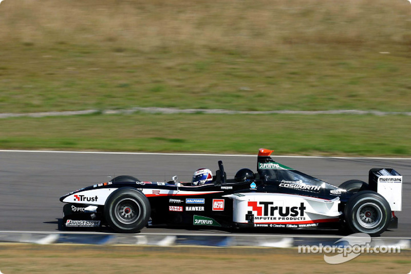 Minardi x2 final 2003 appearance