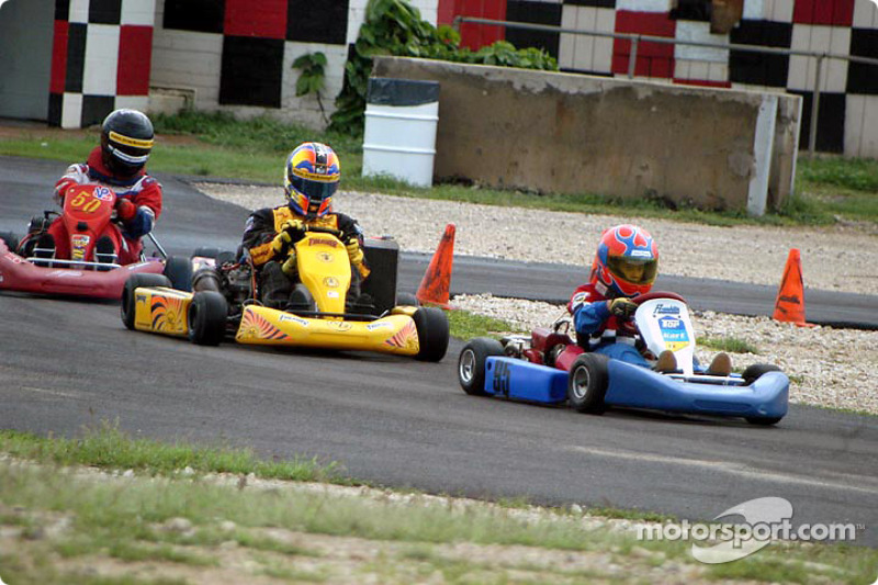 Memo Gidley's Hawaiian Karting Clinic wrap up