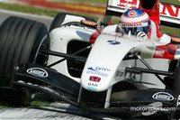 Button scores maiden pole for San Marino GP