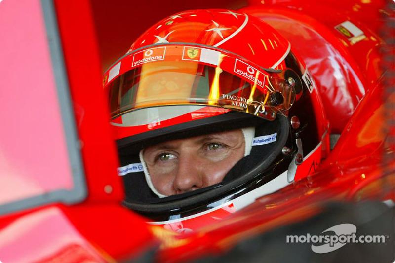 Schumacher not expecting wet race