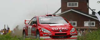 WRC Gronholm in control in Rally Finland