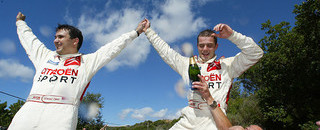 WRC Martin's Tour de Corse win hands WRC title to Loeb