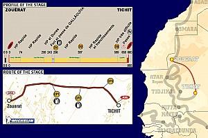 Dakar Dakar: Stage 7 Zouerat to Tichit notes