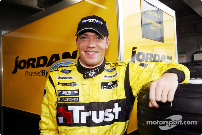 Jordan signs Doornbos as third driver
