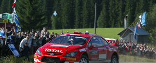 WRC Gronholm back on top in Rally Finland