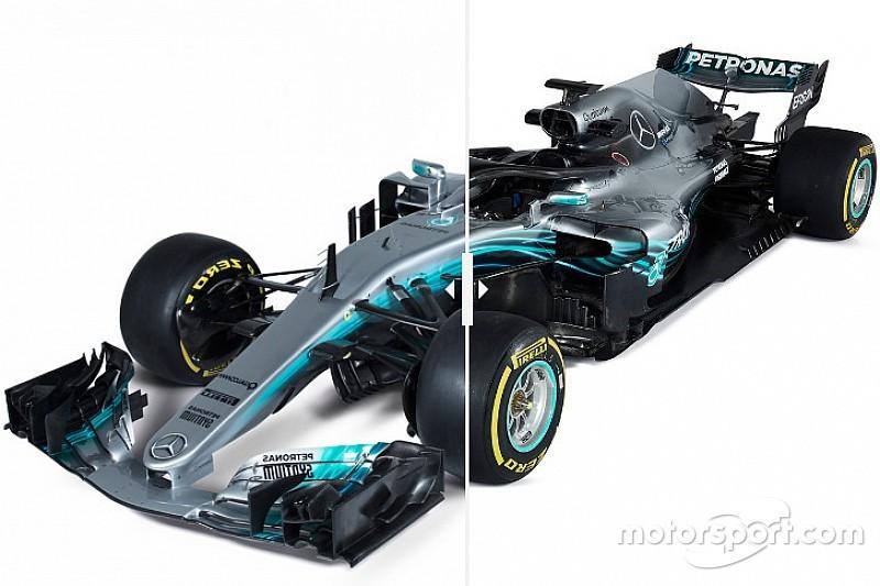 Попробуйте найти отличия: сравнение Mercedes W08 и W09