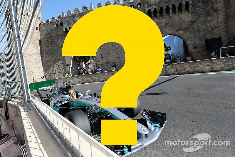 Всего год назад. Вспомните ли вы прошлый Гран При Азербайджана?