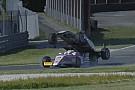 VÍDEO: Piloto sobe em rival em acidente bizarro na Fórmula 4