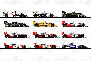 Fórmula 1 Top List Relembre os carros utilizados por Senna na Fórmula 1