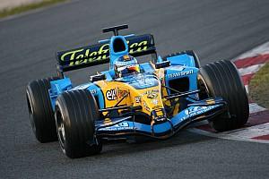 Formula 1 Kubica and Mondini enjoy first test