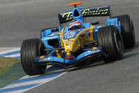 Alonso fastest as testing closes