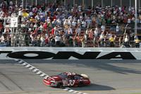 BUSCH: Stewart wins Daytona 300