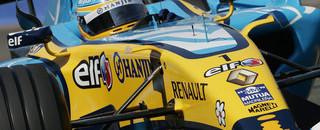 Formula 1 Alonso flies to British GP pole position