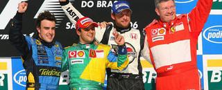 Formula 1 Massa wins Brazilian GP, Alonso is champion